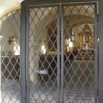 výroba mříží do kostela v Květnově