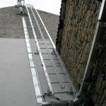 výroba a montáž přístupových žebříků